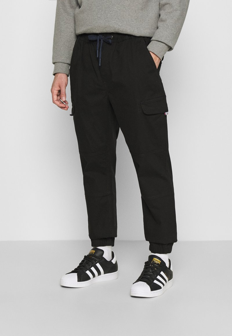 Tommy Jeans - JOGGER - Cargo trousers - black