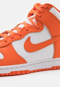 Nike Sportswear - DUNK RETRO - High-top trainers - white/orange blaze - 5
