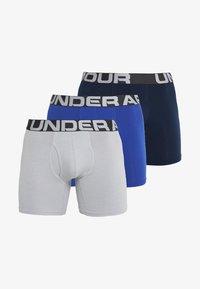 Under Armour - CHARGED 3 PACK - Underkläder - royal/academy/mod grey medium heather - 5