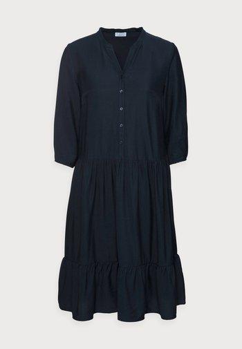 VOLANT BLOUSEDRESS - Shirt dress - night navy