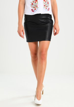 NMREBEL SKIRT - Mini skirt - black