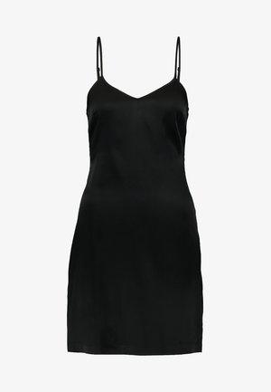 REWARD SHORT SLIP DRESS - Nightie - black