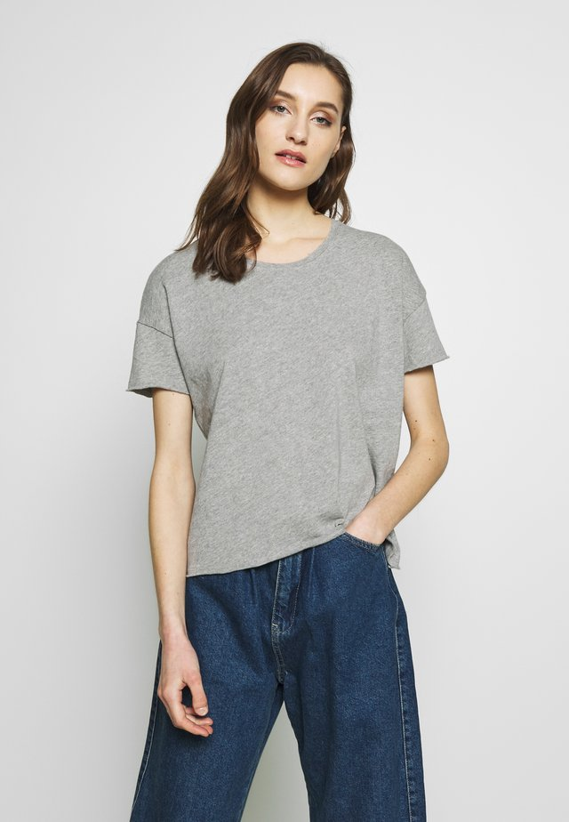 SONOMA - T-shirts - gris chine