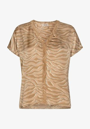 Blouse - hell brown
