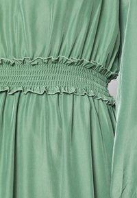 YAS - YASORLEANS DRESS SHOW - Długa sukienka - dark ivy - 5