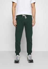 Pier One - Teplákové kalhoty - dark green - 0