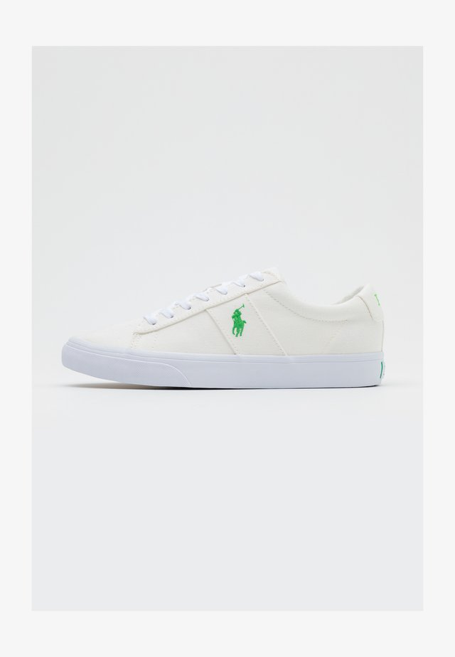 SAYER - Sneakers - white/neon green
