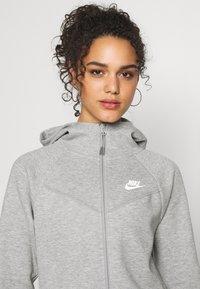Nike Sportswear - HOODIE - Zip-up hoodie - mottled grey - 3