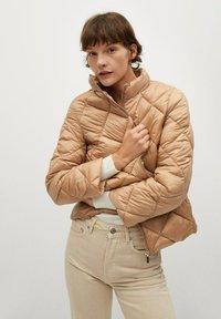 Mango - BLANDICO - Light jacket - beige - 0