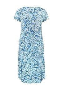 Live Unlimited London - AQUA DITSY - Day dress - turquoise - 2