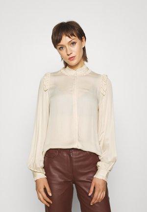 BAUMA FLORINA SHIRT - Camisa - pale sand