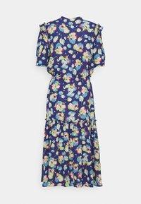 Lauren Ralph Lauren - DRAPEY POLY  - Denní šaty - blue multi - 8