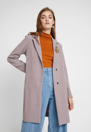 DECORATED COAT - Summer jacket - cornflower blue