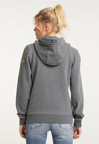 Schmuddelwedda - Zip-up sweatshirt - steingrau melange - 2