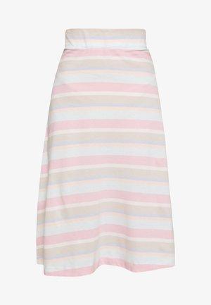 VIBE - Áčková sukně - light pink