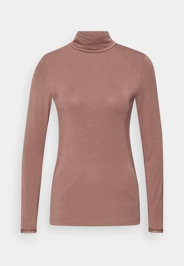ESSENTIAL  - Long sleeved top - brown rose
