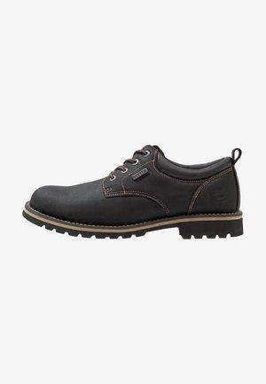 Volnočasové šněrovací boty - schwarz
