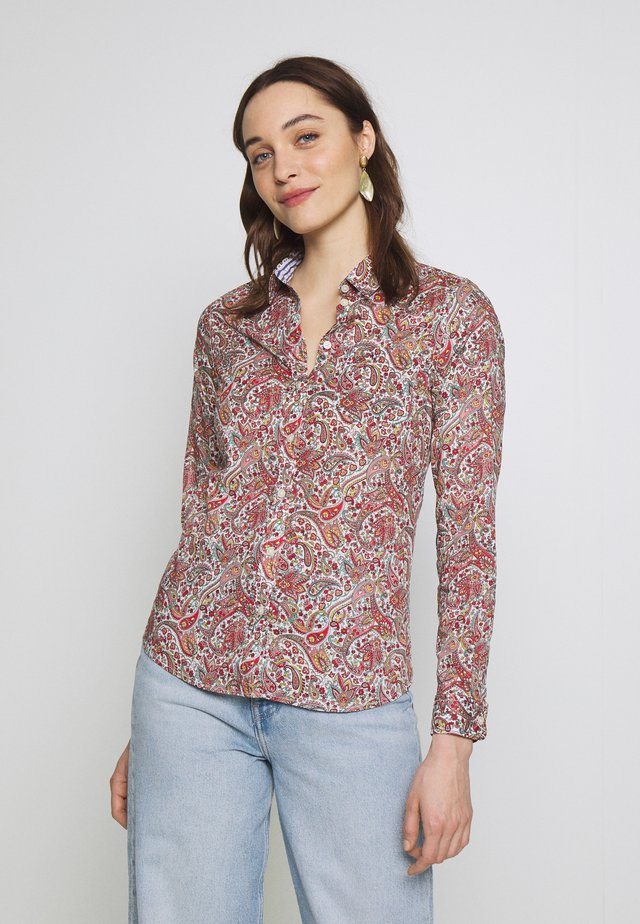 CAMISA RAYA PAISLEY - Button-down blouse - multicolor
