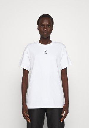 TEE POPINCOURT CHILL AND WINE - T-shirt basic - white
