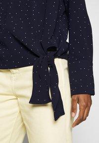 Opus - FLOTA DOT - Long sleeved top - just blue - 4