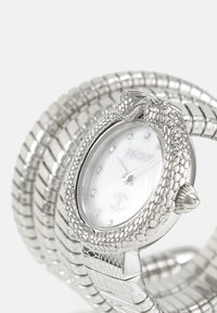 Just Cavalli - DROUBLE WRAP WATCH - Watch - silver-coloured/white - 4