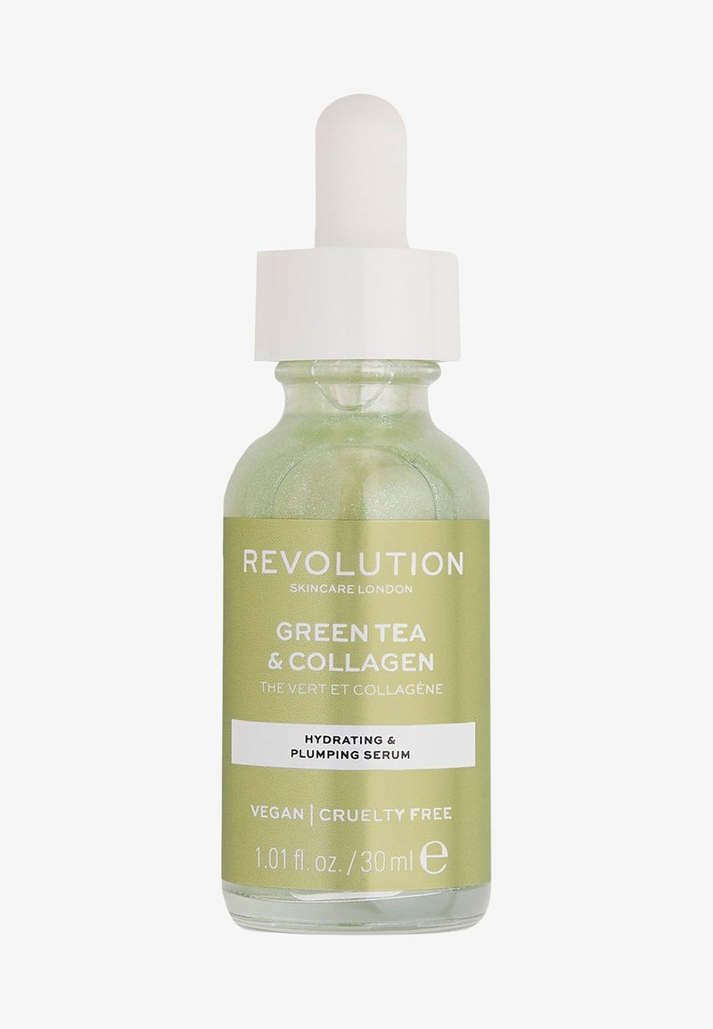 Revolution Skincare - GREEN TEA & COLLAGEN SERUM - Serum - -