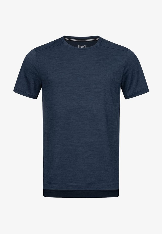 HIGHWOOD - Basic T-shirt - dunkelblau