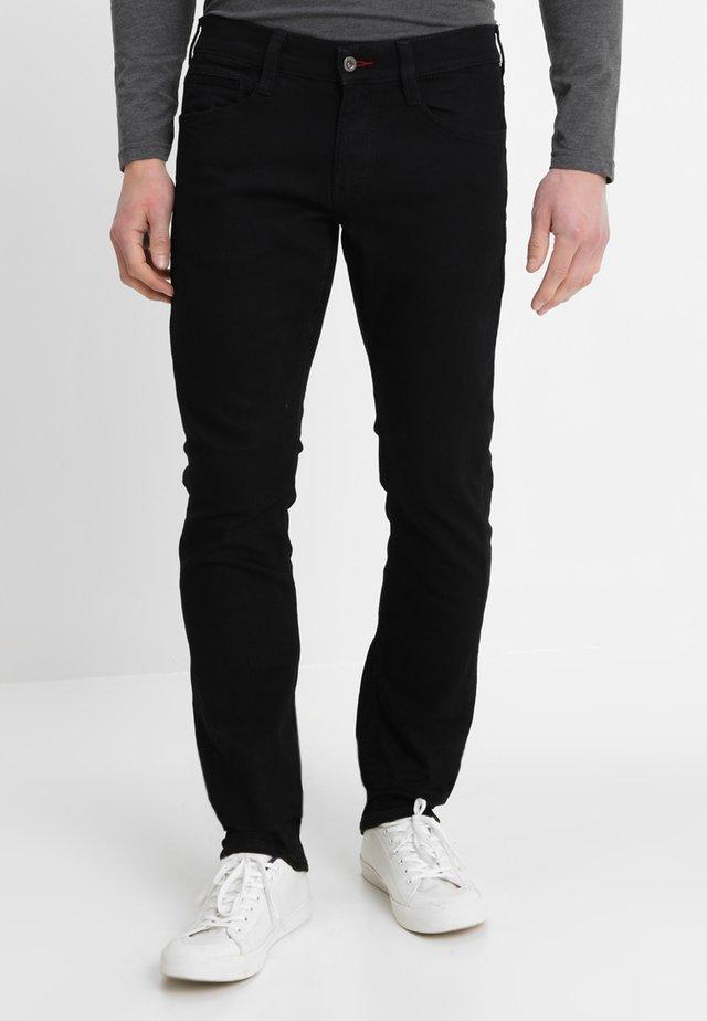 OREGON - Straight leg jeans - midnight black