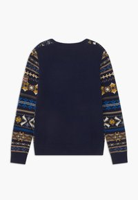 Hackett London - FAIRISLE CREW - Jumper - navy - 1