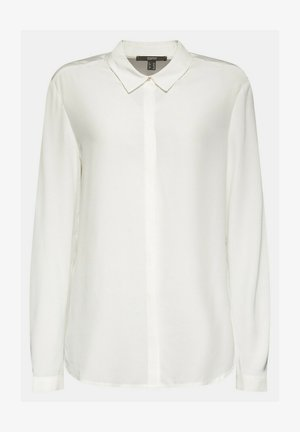 TOUCH ECO - Button-down blouse - off white