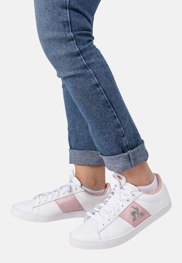 """ELSA - Sneakersy niskie - """"white/pink"""""""