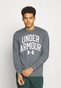 Under Armour - RIVAL CREW - Sweatshirt - pitch gray full heather - 0