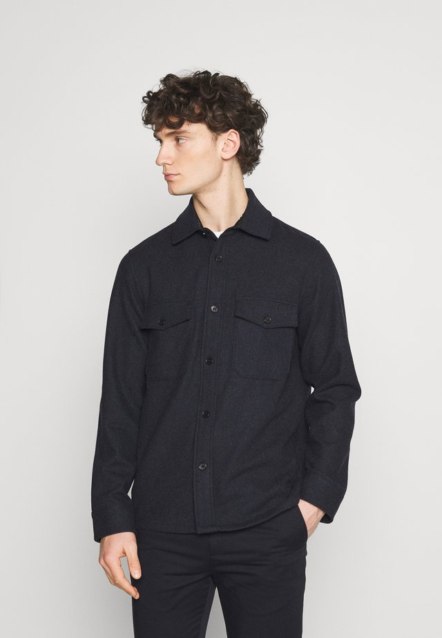 Shirt - blue dark
