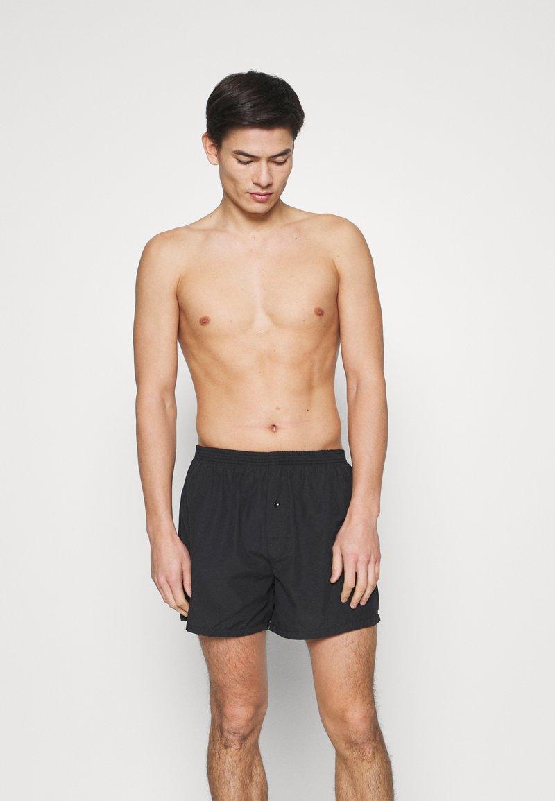 Pier One - 5 PACK - Boxershorts - black/khaki/dark grey