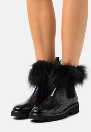 SALLY 114 - Classic ankle boots - black