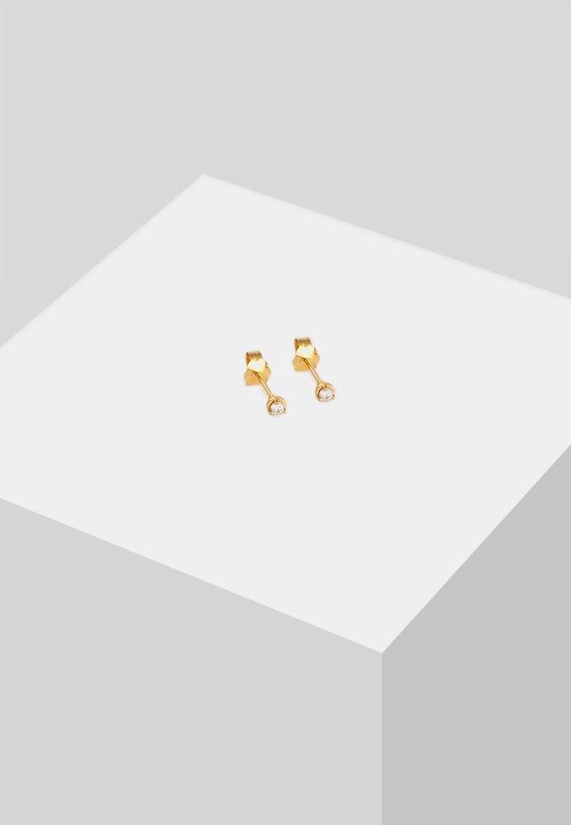 BASIC EDEL  - Earrings - gold-coloured