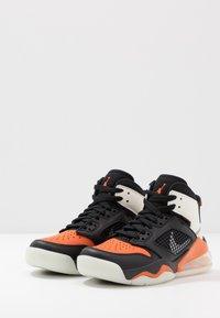 Jordan - MARS - Basketbalové boty - black/reflective silver/starfish/sail - 3