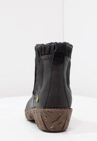 El Naturalista - YGGDRASIL - Classic ankle boots - black - 4