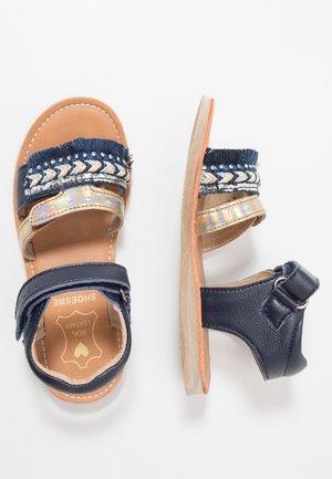 CLASSIC - Sandals - blue/white