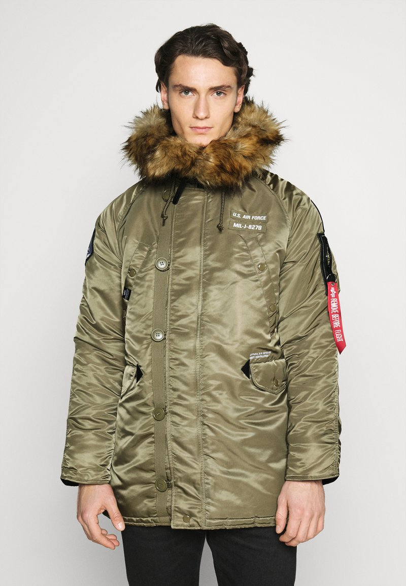Alpha Industries - AIRBORNE - Cappotto invernale - stratos