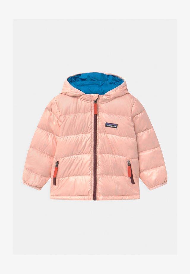 BABY HOODY UNISEX - Daunenjacke - seafan pink