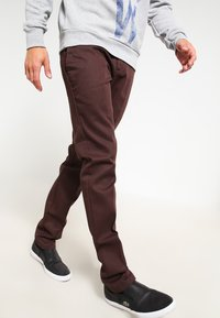 Dickies - 872 SLIM FIT WORK PANT - Chinot - chocolate brown - 3