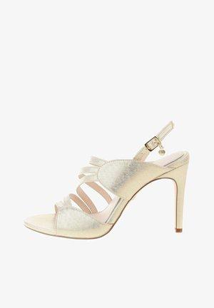 PORTANNA  - Sandály na vysokém podpatku - silver