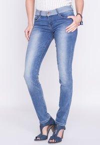 BONOBO Jeans - DAMEN - Slim fit jeans - stone blue denim - 3
