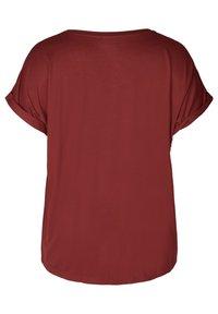 Zizzi - Basic T-shirt - red - 2