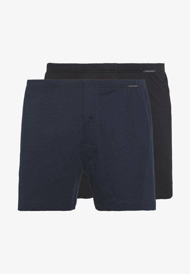 2 PACK  - Boxershorts - black/dark blue