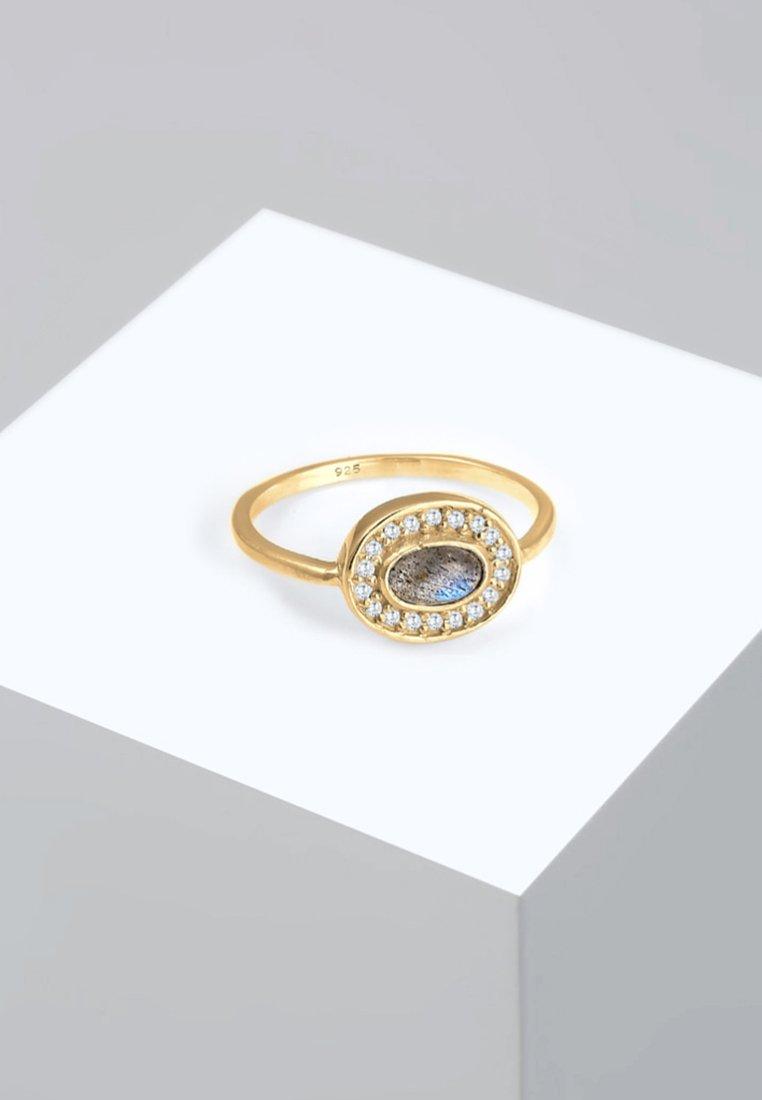 Elli - VINTAGE LABRADORIT  - Ring - gold-coloured