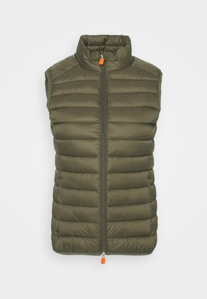 GIGAY - Bodywarmer - bark green