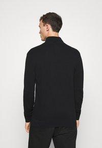 GAP - MOCK NECK - Jersey de punto - true black - 2