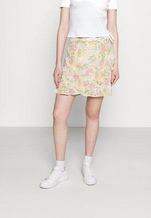 VISELENE WRAP - Wrap skirt - birch